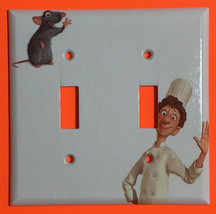 Ratatouille Light Switch Toggle Rocker Outlet duplex wall Cover Plate Home Decor image 2