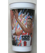 SCOTTIE PIPPEN McDONALDS Beverage Cup 1992 USA Olympics Basketball CHICA... - $19.75