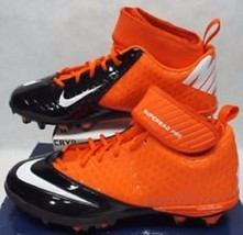 Nike Lunar Super Bad Pro Detachable Football Cleats (15, Orange/Black)  NEW - $11.98