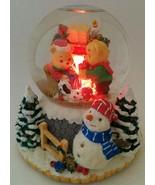 VTG San Francisco Music Box Company Snow Water Globe Christmas Holiday T... - $32.62