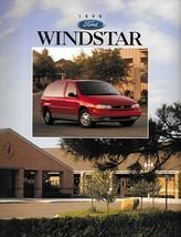 1996 Ford WINDSTAR sales brochure catalog 96 US GL LX - $6.00
