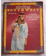 Sizzling Southwest fabric painting designs booklet pattern sheet 1990 11... - $8.60