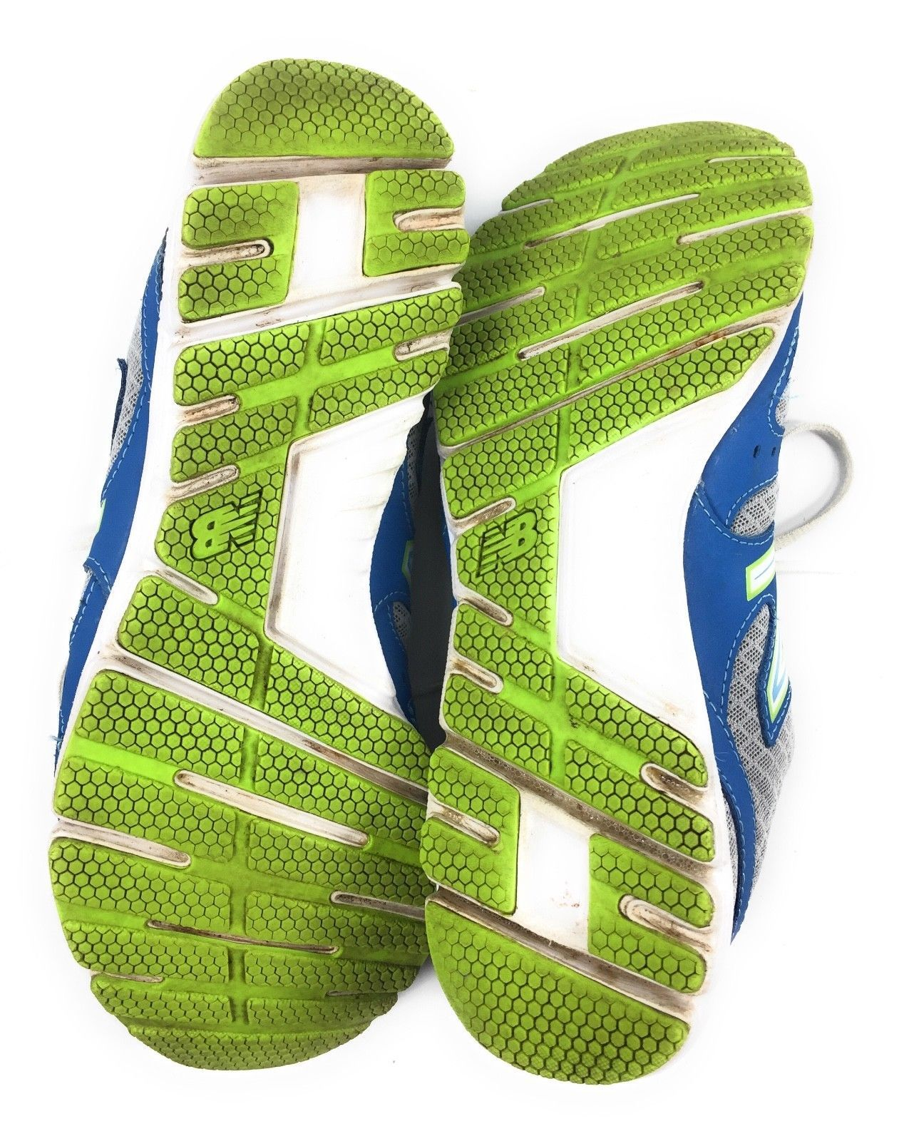 New Balance 550 v3 WE550BG3 Blue Lime Green Running Shoes Women's 9.5 B image 7