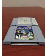 Jet force gemini n64/World Cup 98 combo, Authentic! Works, fast shipping! - $14.50