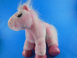 Ganz Webkinz Very Soft pink pony with sparkly hooves Very Nice! - $5.30