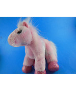 Ganz Webkinz Very Soft pink pony with sparkly hooves Very Nice! - $5.30