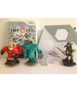 Wii Disney Infinity 1.0 Starter Pack Kids Game Base & 3 Figures - FREE  ... - $24.99