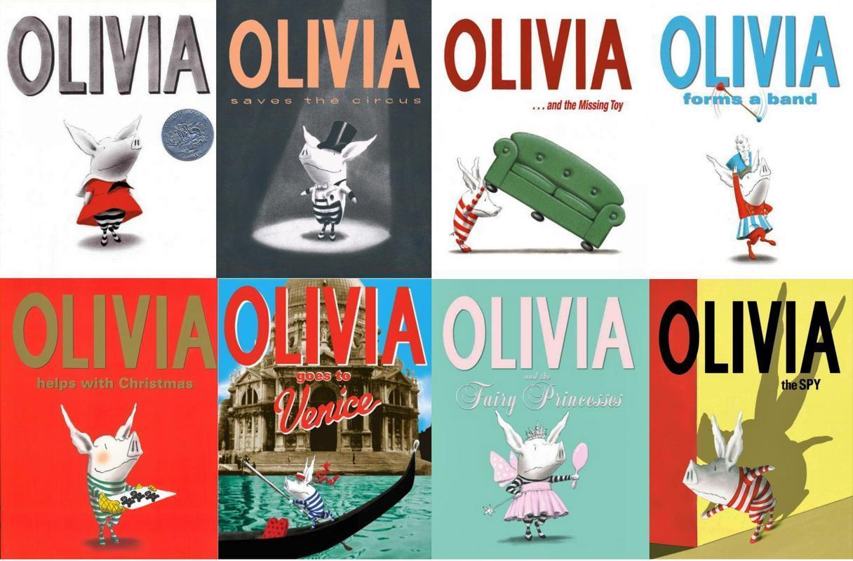 Olivia Series by Ian Falconer HARDCOVER Collection Set of ...