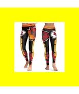 KC CHIEFS Leggings - #11 Women Fan Gear - High Quality- Football Sports ... - $34.99