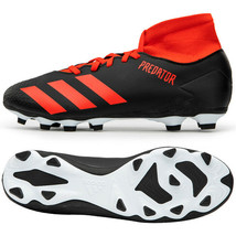 Adidas Predator 20.4 S FxG Football Shoes Soccer Cleats Black EE9565 - $76.99