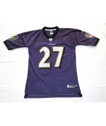 Baltimore Ravens #27 Rice NFL Reebok Jersey Youth? XL Onfield or tight a... - $9.49