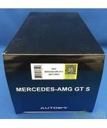 Auto Art Mercedes Amg Gt S Mat Gray 1/18 Scale Car - $190.00