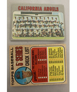 Topps 1970 Set Break #522 Angels Team Not Rated Mint - $9.49