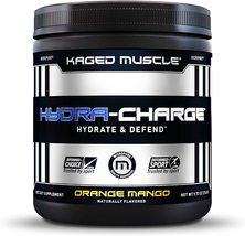 KAGED MUSCLE HYDRA-CHARGE Hydrate & Defend ORANGE MANGO 60 servings net.... - $34.99