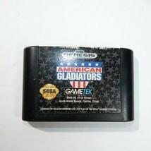 AMERICAN GLADIATORS Sega Genesis video game Cartridge only - $4.94