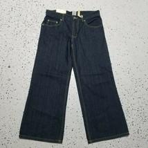 Faded Glory NWT Boy's Denim Jeans ~ Sz 10H ~ Blue ~ Adjustable Waist ~ Dark - $14.84
