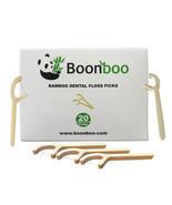 Bamboo Dental Floss Picks | 20CT Reusable Picks | Sustainable & Biodegradle - $5.99