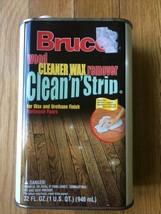 Bruce Clean N Strip Wood Cleaner Wax Remover Wax Urethane Finish Hardwoo... - $72.25