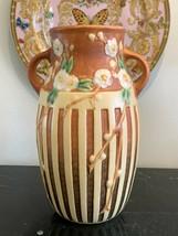 Vintage Roseville #626 Cherry Blossom Vase - $349.00