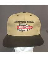 Pioneer Seed Corn Performance Revolution Cap Hat Snapback Emboridered US... - $23.21