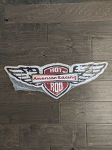 """25"""" AMERICAN Hot Rod Racing 3d cutout wing retro USA STEEL plate display ad Sign - $70.56"""