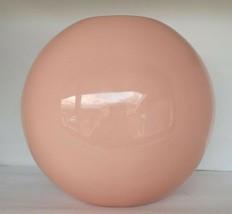 Vintage 80s Royal Haeger Pink Ginger Jar Shaped Bulbous Vase #4327 PRISTINE - $25.73