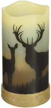 Deco Flair LED4398 Deer LED Wilderness Silhouette Candles - $26.27