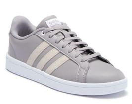 Adidas Cloudfoam Advantage Women's Sneakers Gray Athletic Skate Shoes B4... - $35.99