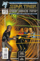 Star Trek: Deep Space Nine Comic Book The Maquis #3 Art Cover 1995 NEAR ... - $2.99