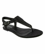 TOP MODA, Black Dove Sandal, Sz 6 - $13.86