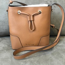Michael Kors Cary Small Bucket Bag Acorn Leather NWT  - $148.38