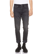 Calvin Klein Jeans Men's CKJ 026 SLIM Denim Pants, Charcoal Size 30X32 - $44.54
