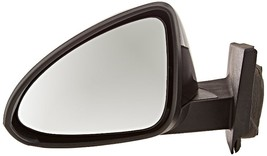 Fits 13-15 Chev Spark Left Driver Mirror Power Unpainted Black No Heat Or Signal - $55.95