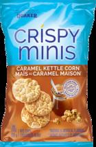 Quaker Crispy Minis Chips Caramel Kettle Corn 10 bags 100g each Canadian  - $69.99