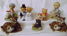 Ceramic Homco Collectibles Animals & People - $15.00