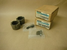 (Qty 2) DODGE 117151 1008X1 TAPER LOCK BUSHING - $10.00