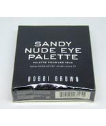BOBBI BROWN SANDY NUDE EYE Eye Shadow Palette 0.38oz/10.8g NIB - $38.81