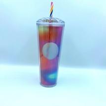 New Limited Edition Starbucks 2021 Summer Rainbow Pride Kaleidoscope Tum... - $61.74