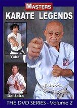 Masters Karate Legends #2 DVD Kubota-Gosoku Yabe-Shotokan Del Saito-Shit... - $29.95