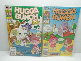Comic Book Lot 2 Hugga Bunch Star Comics JUNE 5 AUG 6 1987 Grouse Vtg - $7.99
