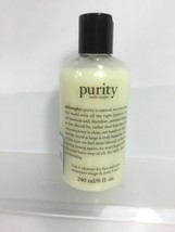 Philosophy Purity Made Simple One Step Facial Cleanser 3in1 Face Eyes 8oz - $11.39
