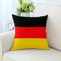 45x45cm Germany National Flag Printed Home Decor Pillows Cushion Cover - $8.68