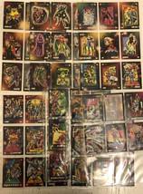 60 cards 1992 Marvel Team Ups, Super-Origins, Milestones Rookies Wars Beings - $18.70
