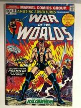 AMAZING ADVENTURES #18 War of the Worlds: Killraven (1973) Marvel Comics... - $10.88