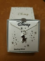Disney Sterling Silver Gold Bambi Pendant - $45.00