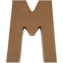 Philadelphia Candies Solid Milk Chocolate Alphabet Letter M, 1.75 Ounce Gift - $6.92