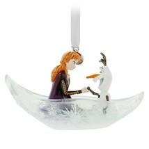 Disney 2020 Anna Olaf Fairytale Moments Sketchbook Christmas Ornament NEW - $29.69