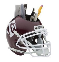 Texas A&M Aggies NCAA Football Schutt Mini Helmet Desk Caddy - $21.95