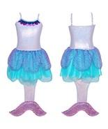 Pink Poppy Summer Mermaid Dress Size 5/6-lilac - $53.99