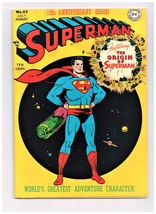 Superman 53 Fn/VF Origin, 10th Anniversary issue 1948 - $2,275.00